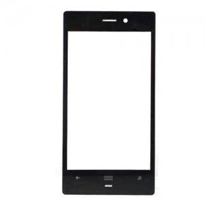 Front Glass for Nokia Lumia 928 Black