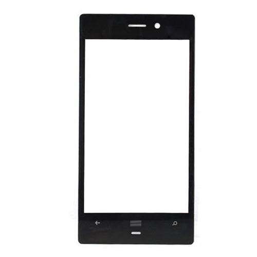 Front Glass for Nokia Lumia 928 Black