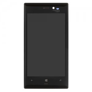 LCD with Frame for Nokia Lumia 928 Black