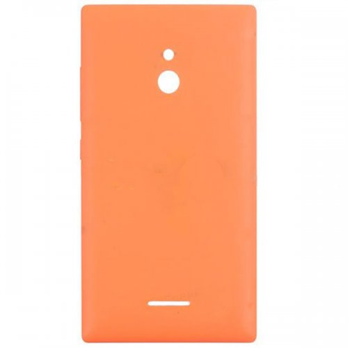 Battery Cover  With Side Keys for Nokia XL Orange
