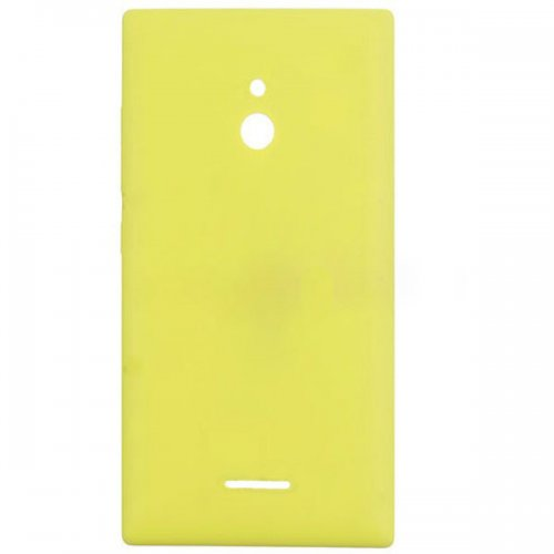 Battery Cover  With Side Keys for Nokia XL Yellow