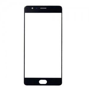 Front Glass Lens for OnePlus 3 Black