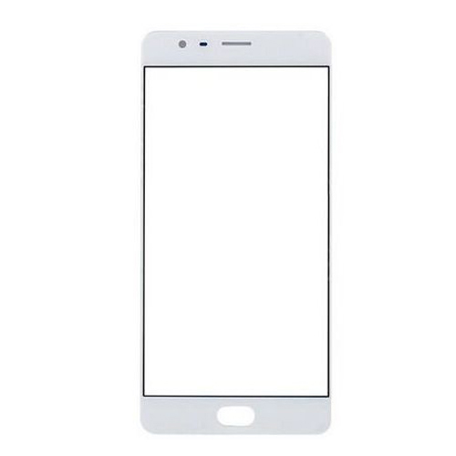 Front Glass Lens for OnePlus 3 White