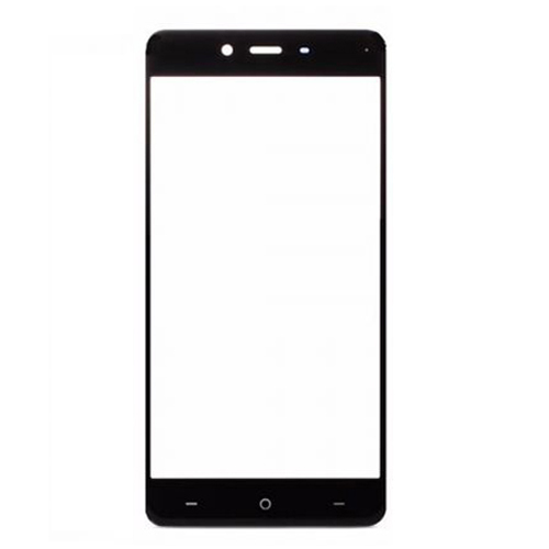 Front Glass Lens for OnePlus X Black (Third Party)