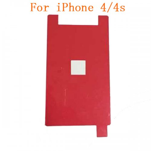 LCD Backlight Red Film Sticker for iPhone 4/4s