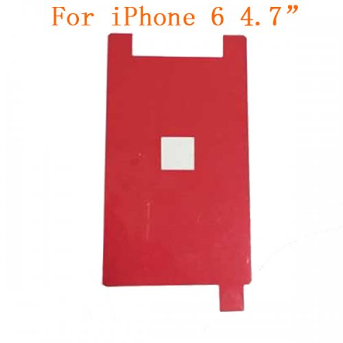LCD Backlight Red Film Sticker for iPhone 6 4.7""