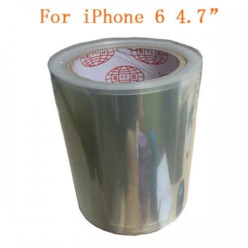 "500pcs Front Screen Anti-Static Protector Refurbishment Film for iPhone 6 4.7"""