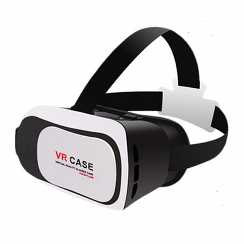 3D VR Box VR Case Headset Glasses Virtual Reality Mobile Phone 3D Movies Games iPhone Series and Other 4.7-6.0 Cellphones