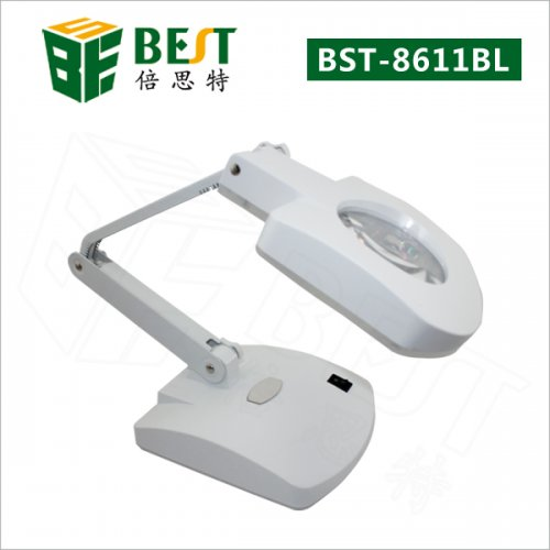 BST-8611BL LED magnifying table lamp