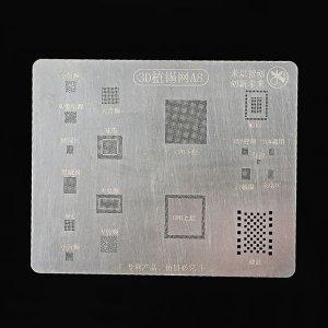 A8 BGA Reballing Stencil 3D Planting Stencil Net Fixture IC For A8