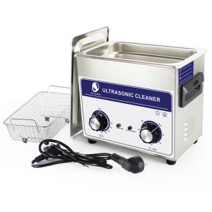 Timer & Heater JP-020 Ultrasonic Cleaner 3.2L Hardware Accessories Motor Washing Machine