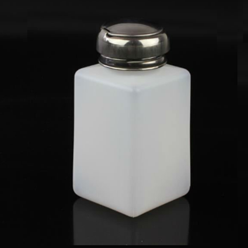 200ml Plastic Alcohol Bottle Soldering Flux Press Metal Cap
