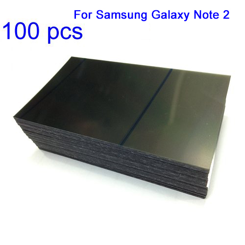 For Samsung Galaxy Note 2 LCD Polarizer Film 100pc...