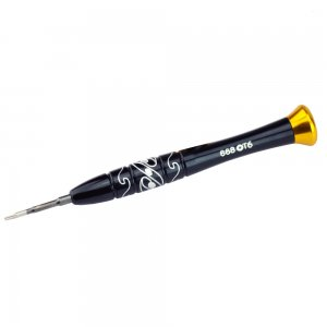 BEST 668 T6 Black Aluminium Screwdriver