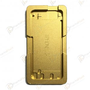 For iPhone 5/5s/5c Glass with Frame Bezel Slot Metal Alignment Mold