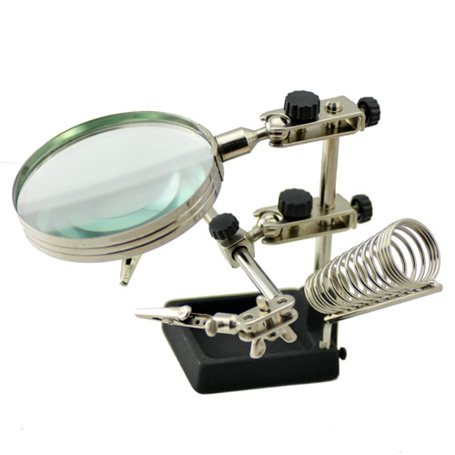 Magnifying Glass with Clips  Best 268 for Phone Repair