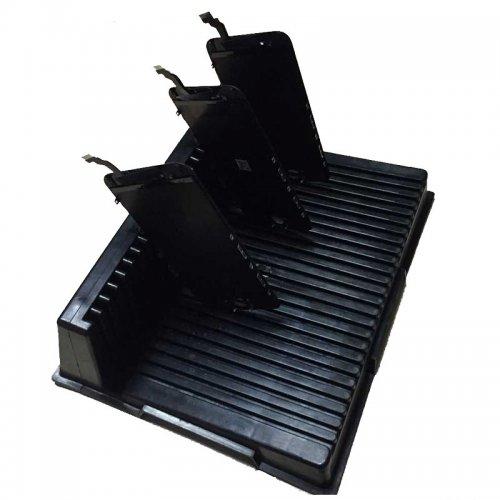 LCD screen holder L shape tray insert frame for LCD screen refurbishment