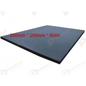Black Super soft Foam pad For Mobile LCD Repair Vacuum Laminating Machine 250*200*6mm