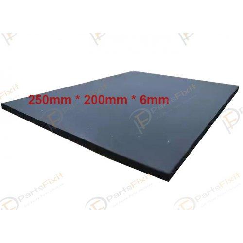 Black Super soft Foam pad For Mobile LCD Repair Vacuum Laminating Machine 250*200*6mm