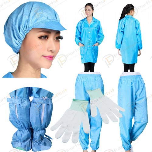 Anti-static Dust-proof Suits Antistatic Highly Cle...