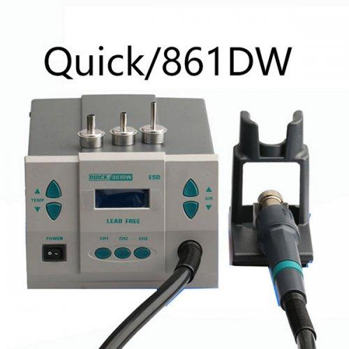 Hot Air Rework Station QUICK861DW Spot Genuine Crack 861DW