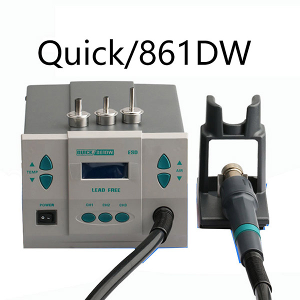 Hot Air Rework Station QUICK861DW Spot Genuine Cra...