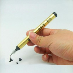 Golden Vacuum Suction Pen BST-939 for picking up IC small electronic components