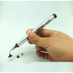 Silver Vacuum Suction Pen BST-939 for picking up IC small electronic components