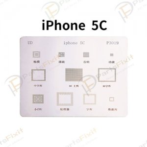 Solder Tin Plate Steel Mesh Comprehensive Series Repairs for iPhone 5c