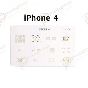Solder Tin Plate Steel Mesh Comprehensive Series Repairs for iPhone 4