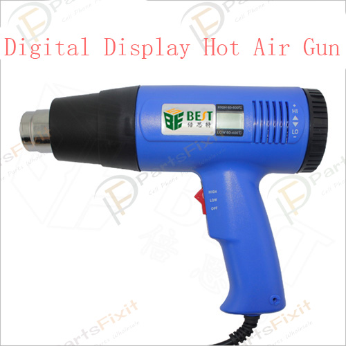 Digital Display Handhold Hot Air Gun BGA Welding T...