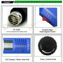 Digital Display Handhold Hot Air Gun BGA Welding Tool BST-8016