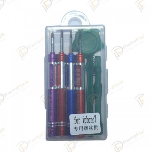 For iPhone 7 and 7 Plus 7 in 1 Screwdriver Repair Open Tool Kit