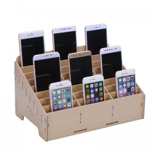Woody Mobile Phone Repair Storage Box