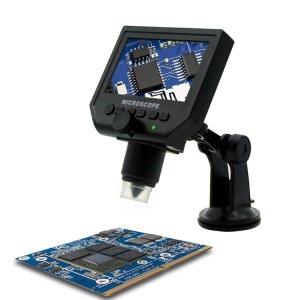 G600 1-600X 3.6MP 4.3 inch LCD Digital Portable USB Digital Microscope Cheap Pirce