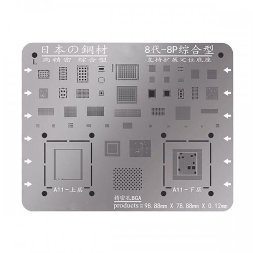 Solder Tin Plant Network for iPhone 8/8 Plus