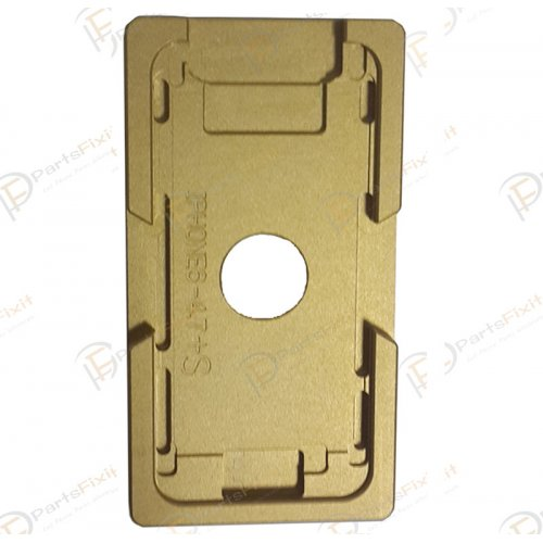 For iPhone 6/6S Glass with Frame Bezel Slot Metal Alignment Mold