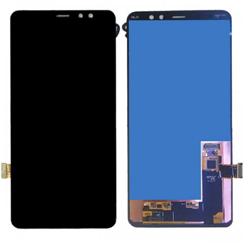 LCD with Digitizer Assembly for Samsung Galaxy A8 Plus (2018)/A7 (2018) A730 Black