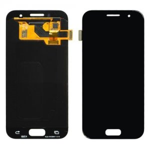 LCD with Digitizer Assembly for Samsung Galaxy A320 Black Refurbished