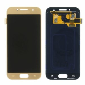 LCD with Digitizer Assembly for Samsung Galaxy A320 Gold Refurbished