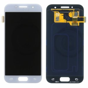 LCD with Digitizer Assembly for Samsung Galaxy A320 White Blue original
