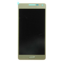 LCD with Digitizer Assembly for Samsung Galaxy A5 SM-A500 Gold Original LCD with Copy Glass