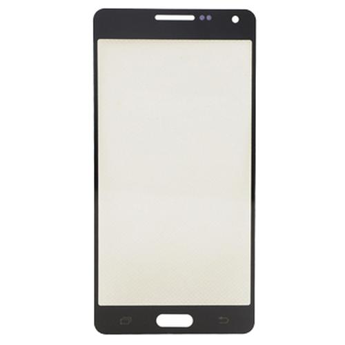 Front Glass for Samsung Galaxy A5 SM-A500 Black Grade A+