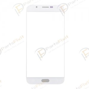 Front Glass Lens for Samsung Galaxy A8 White A+
