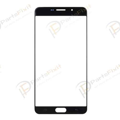 Front Glass Lens for Samsung Galaxy A9 Black A+