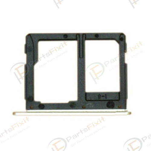 Dual Sim Card Tray for Samsung Galaxy A9 A9000 Gol...