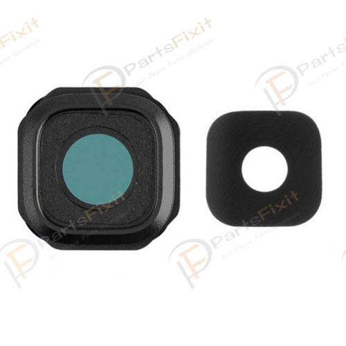 Camera Lens and Bezel for Samsung Galaxy A9 Black