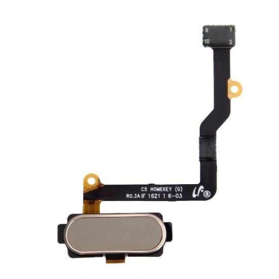 Fingerprint Sensor Flex Cable for Samsung Galaxy C5 C5000 Gold