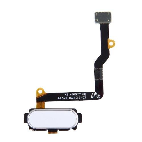 Fingerprint Sensor Flex Cable for Samsung Galaxy C5 C5000 Silver