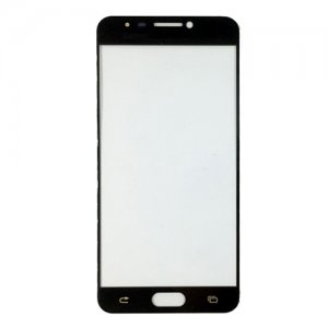 Glass Lens for Samsung Galaxy C5 Black